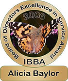 Board of Directors Excellence in Service Award, 2006: Alicia Baylor