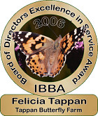 Board of Directors Excellence in Service Award, 2006: Felicia Tappan