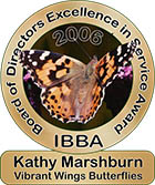 Board of Directors Excellence in Service Award, 2006: Kathy Marshburn
